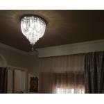 Κρυστάλλινο φωτιστικό οροφής Ν.81 Spyros